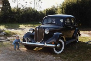My 1938 Plymouth in 1984