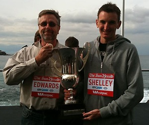 Chris Edwards and Michael Shelley City2Surf