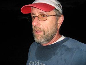 Not a good idea to run through the bush in the dark!