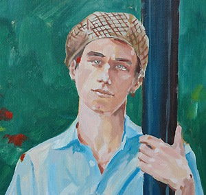 When I decided to do some artwork for relaxation, the first thing I did was paint a portrait of my boy Will. I didn't know it at the time but subconsiously I was trying to reconnect with him in my own way.