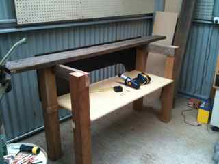 Workbench under construction