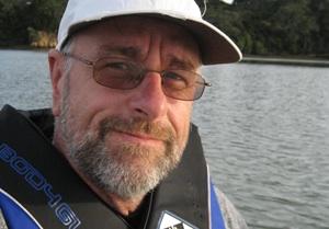 me on a kayak
