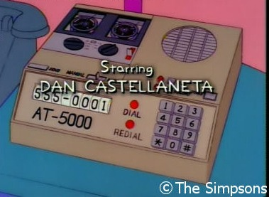 Homer's automatic dialing machine
