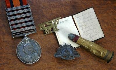 boer war medal