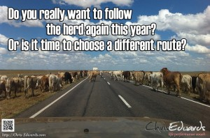 Follow the herd again?