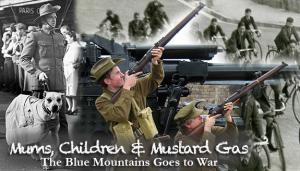 Mums children and mustard gas