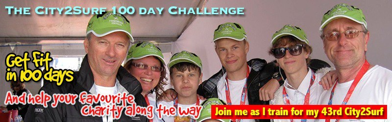 City2Surf 100 Day Challenge