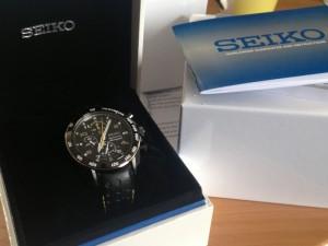 My new Seiko watch