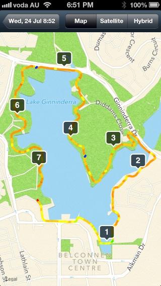 7 km map