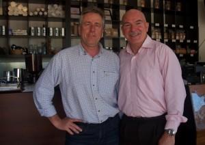 Rob De Castella and Chris Edwards