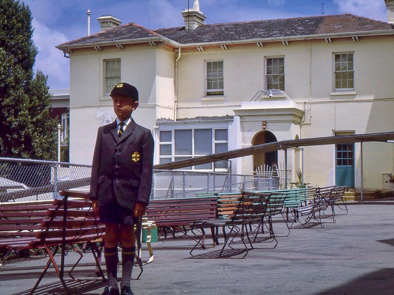 Chris Edwards starts boarding school aged 8